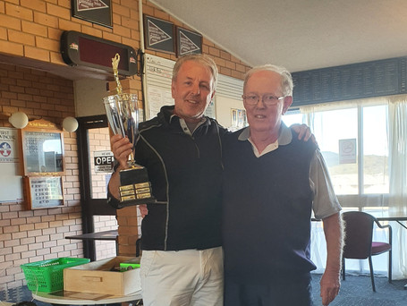 Scott Constable and Ron Batterham