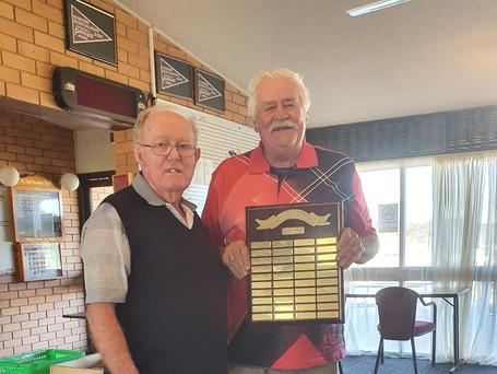 Ron Batterham and Bruce Green
