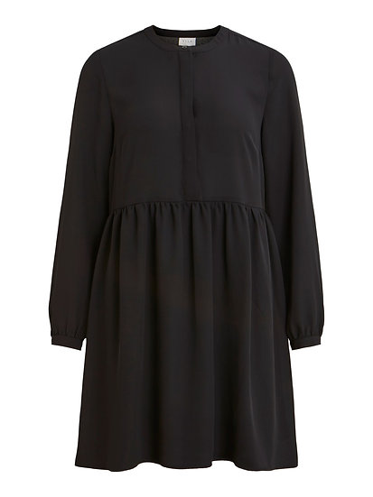Vila black shirt dress