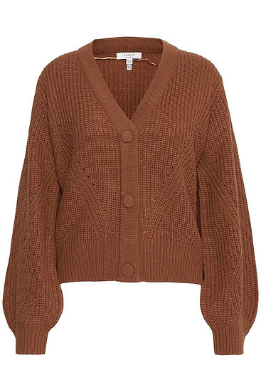 BYOUNG cable knit cardigan