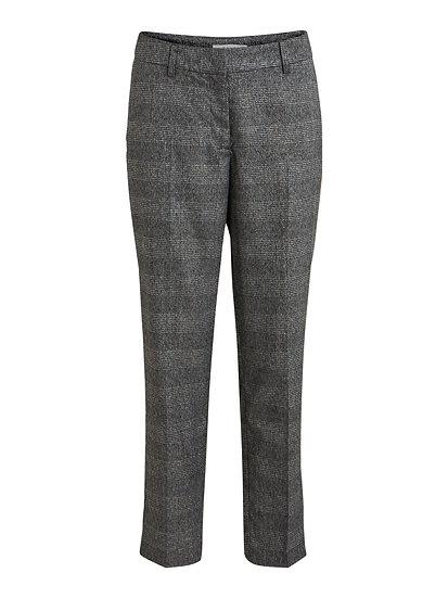 Vila check trouser with sparkle thread
