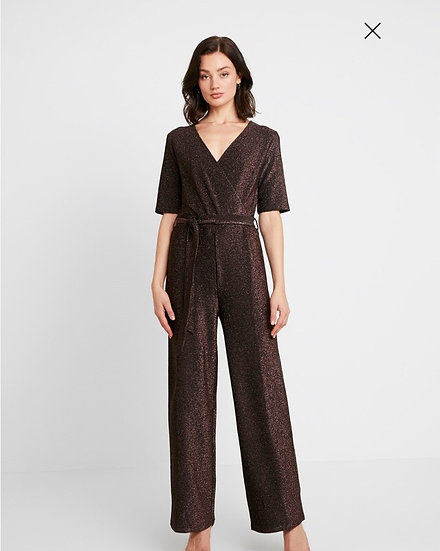 Pieces glitter jumpsuit