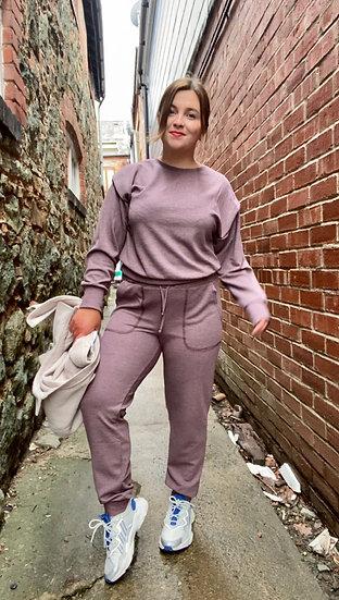 Sweatshirt- matching joggers available
