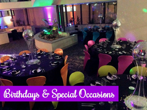 Birthdays & Special Occasions