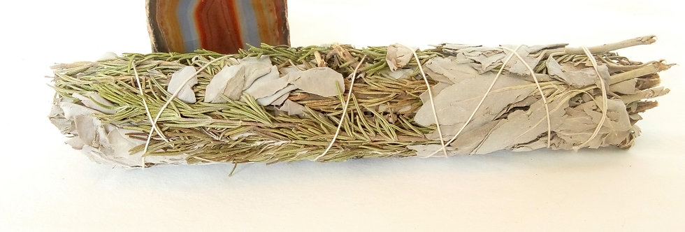 White sage and Rosemary Smudge stick ex lge