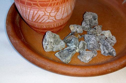 copal black resin