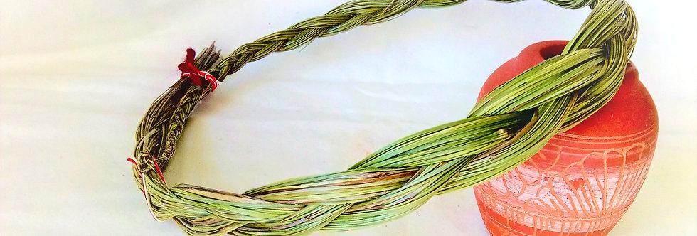 Sweetgrass Braid Smudging Herb 60cm