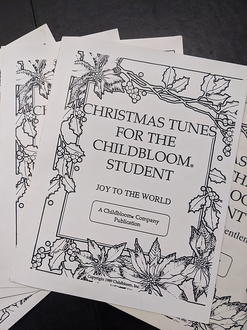Christmas Tunes for the Childbloom Student