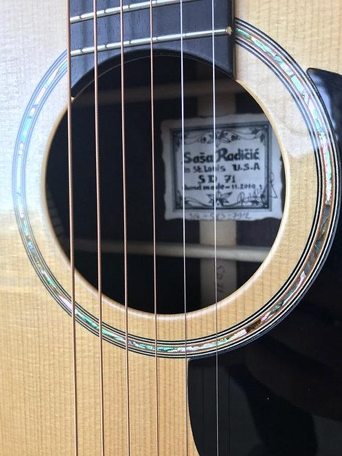 "SD 71  Radicic ""00"" steel-string"