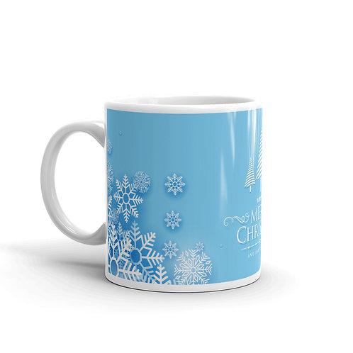 "Mug ""Merry Christmas And Happy New Year"""