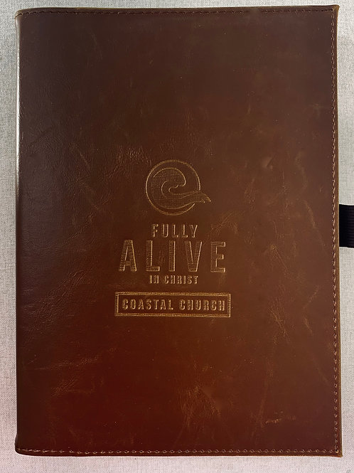 Leather Bound Large Refillable Journal