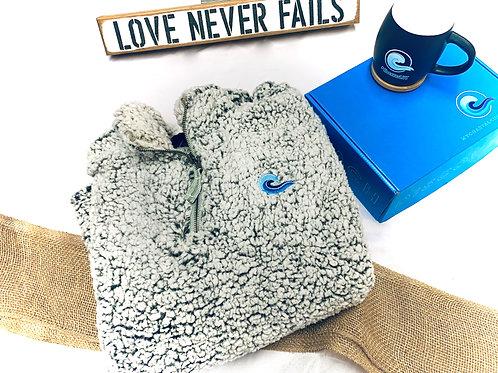 Pullover Sherpa Sweatshirt