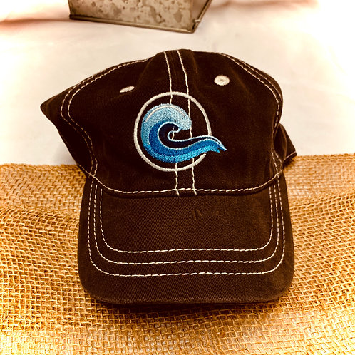 Coastal Embroidered Hat