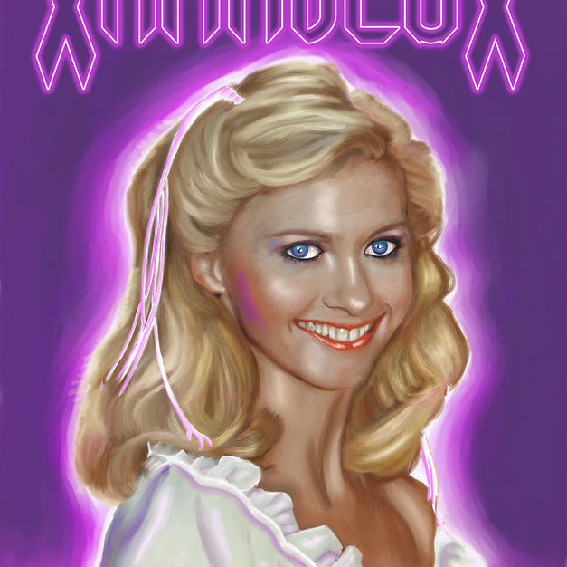 Olivia Newton John Xanadeux poster norma