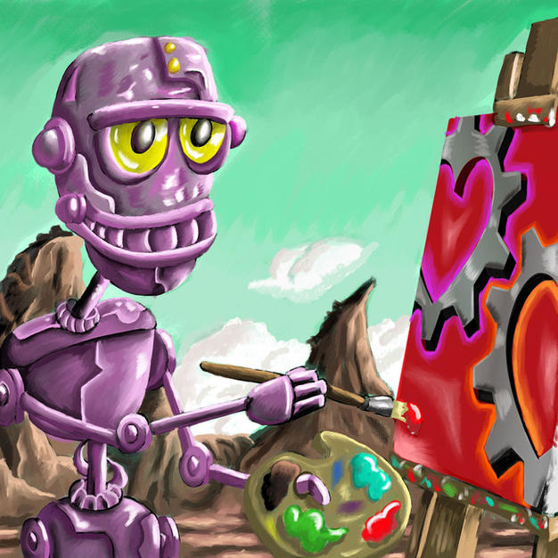robot-color-merged-and-shaded-Valentine-