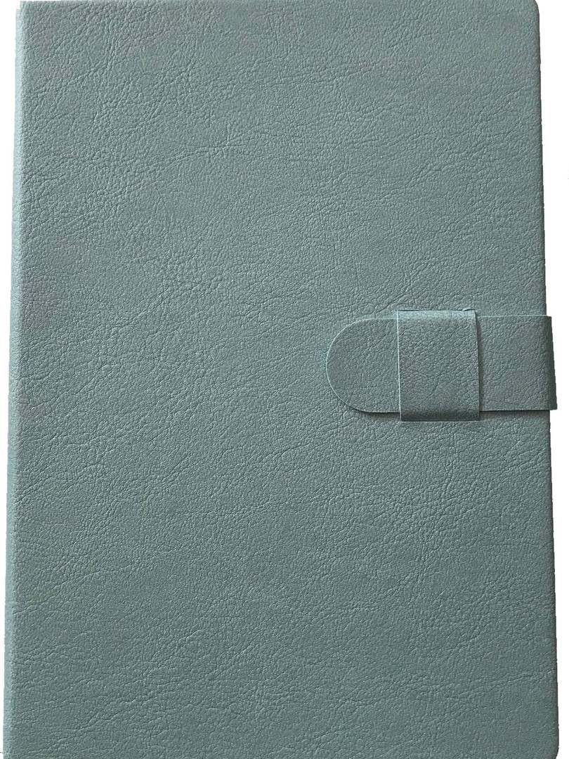 Faux Leather Journal - Grey