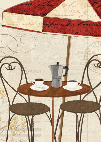 Small Journal - Cafe Terrace