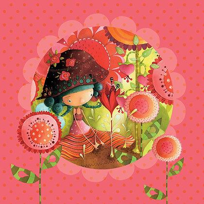 Napkin - Jungle Flower