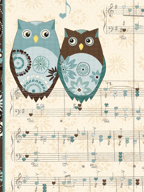 Small Journal - Owl's Melody