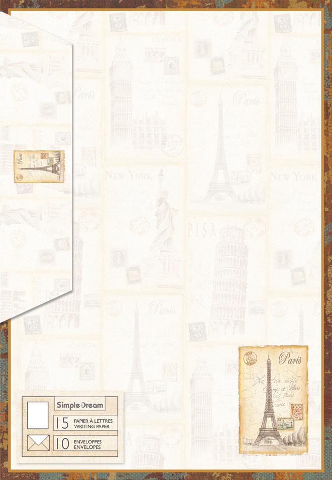 Letter Writing Kit - Paris