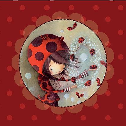 Napkin - Ladybugs