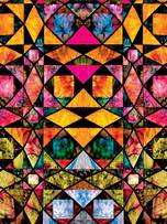 Metallic Paper Covered Journal - Malderbrot's Flowers
