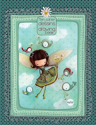 Drawing Book - Bird Fairy