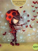 Sticky Notes - Ladybugs