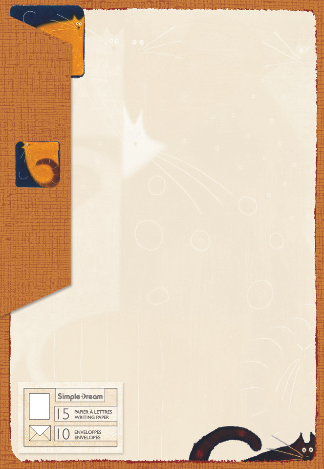 Letter Writing Kit - Cat