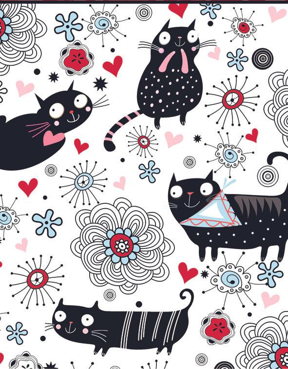 Rec. Memo Block - Doodle Cat