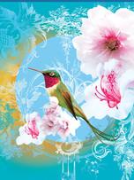 Rec. Memo Block - Hummingbird