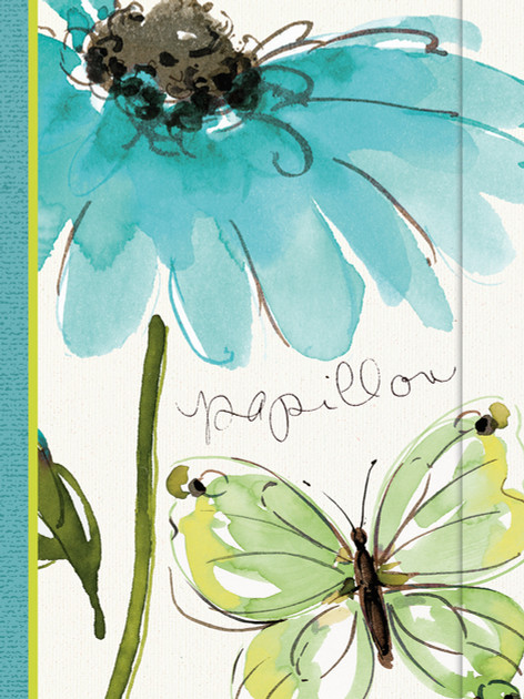 Small Journal - Butterfly Flower