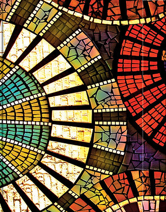 Metallic Paper Covered Journal - Mosaic