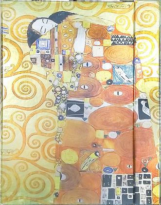 Metallic Paper Covered Journal - Dreaming of Klint