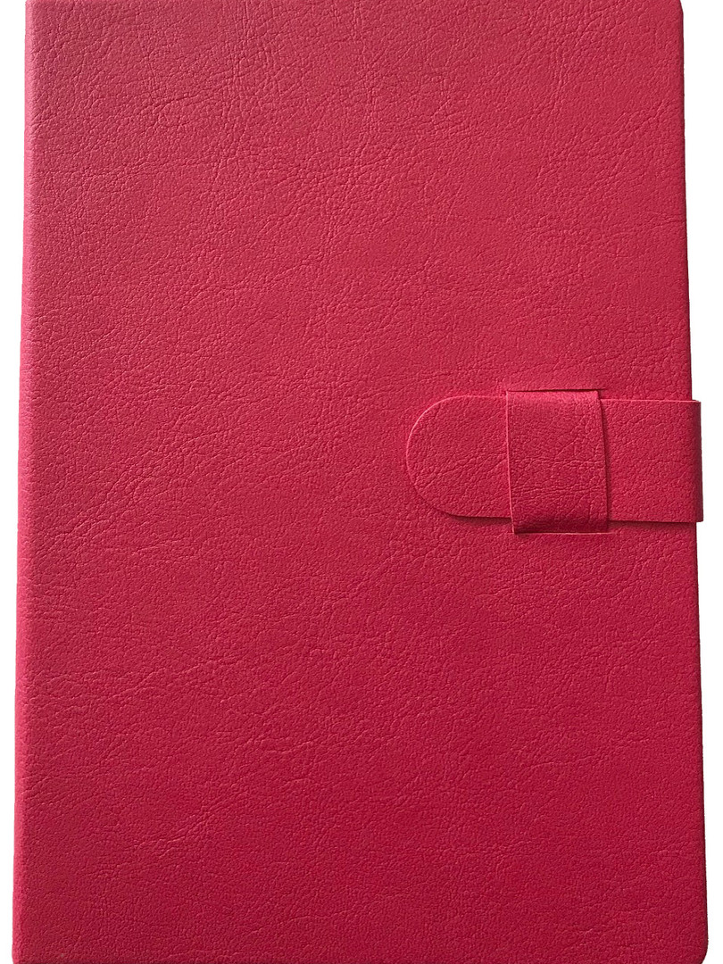 Faux Leather Journal - Pink