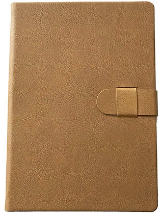 Faux Leather Journal - Tan