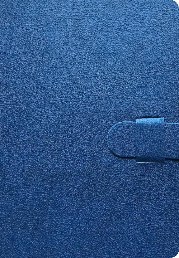 Faux Leather Journal - Dark Blue