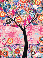 Address Book - Flower Tree