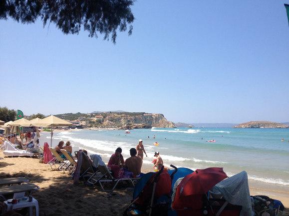 Beach of Almyrida