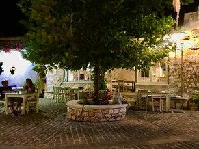 Taverna Arismari in the village