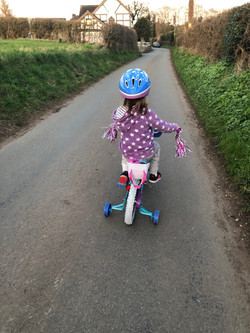 Luna Judge bike ride