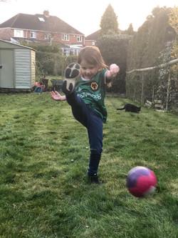 Arabella Clarke-Trevis football