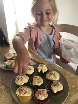 Millie Seal Baking