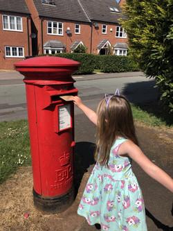 Millie Seal posting card