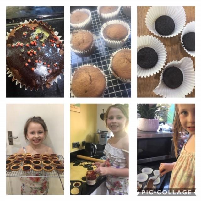 Betsy Baynham (Y3) baking