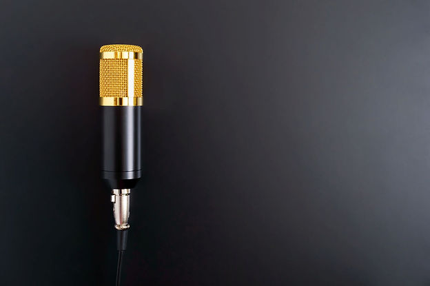 2000 X beautiful-golden-microphone-on-a-