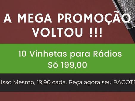 A Mega Promocao Voltou 19 e 90 No Pacote