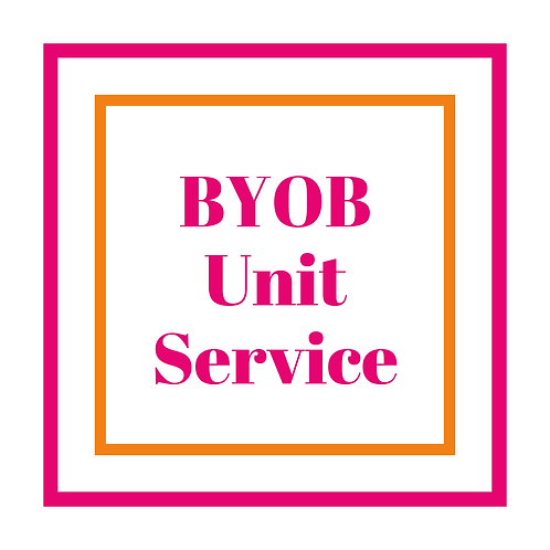 BYOB Unit Service(Hair NOT Included)