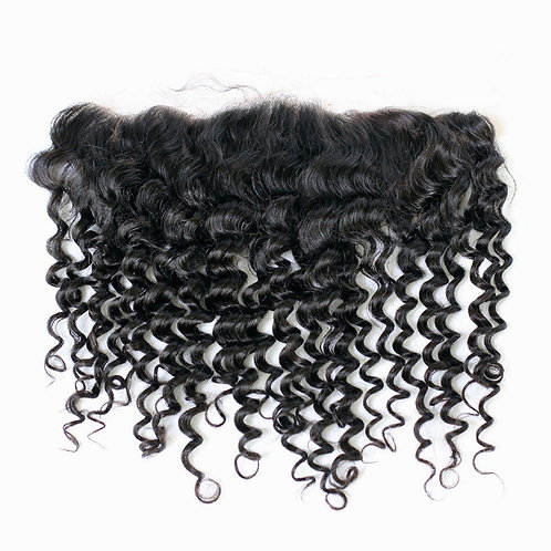 Virgin Italian Curly Frontal