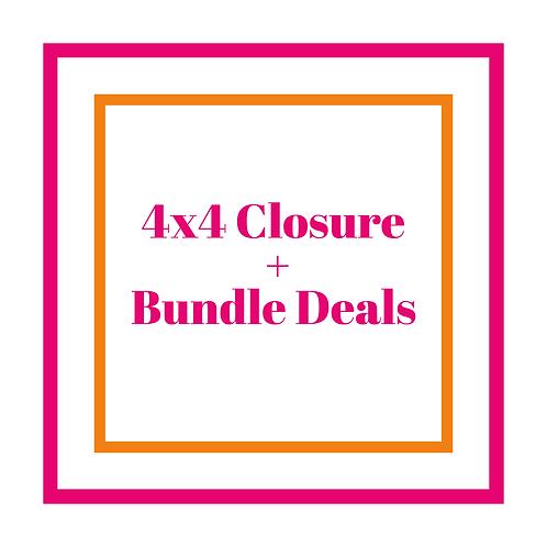 4x4 Closure + Bundle Deals
